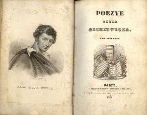 A. Mickiewicz, Poezye, t.1. Paryż 1828