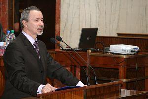 Konferencję otworzył JM Rektor UŚ prof. zw. dr hab. Wiesław Banyś