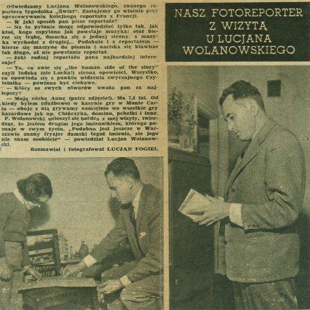 Wycinek z ''Życia Warszawy'' nr 41 (555) / 11.10.1959 r.