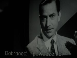 David Strathairn w roli Eda Murrowa, kadr z filmu